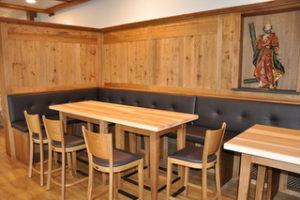 Der neue Saal Gaststätte Zum Vilserwirt in Altfraunhofen
